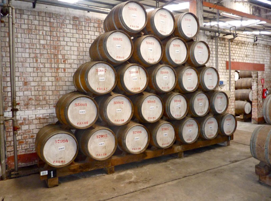 Solera envelhecimento de destilados