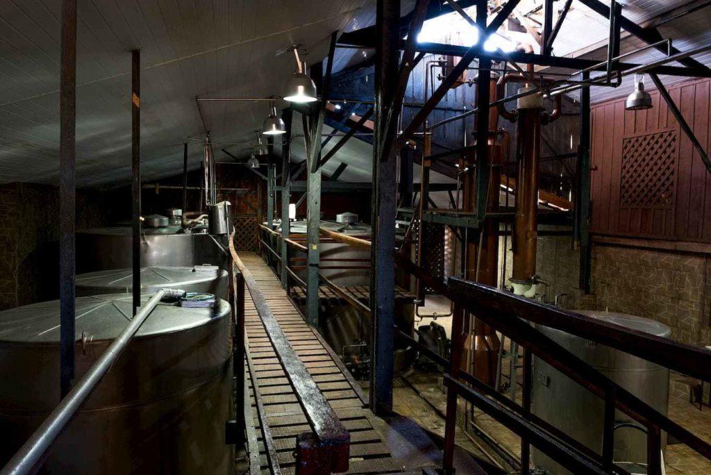Destilaria da cachaça Companheira