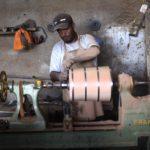 Produção de barris