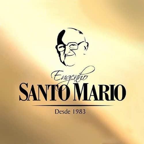 Logo Cachaça Santo Mario